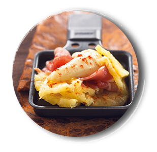 Hawaii-Raclette