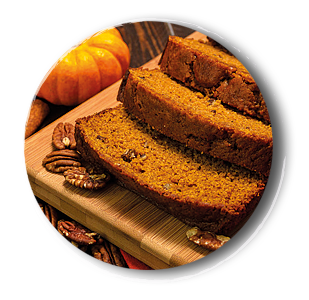 Saftiges Pumpkin Bread