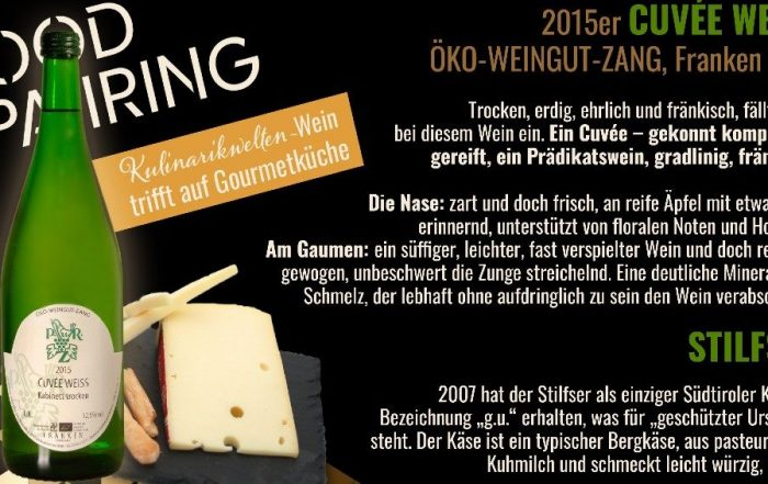 Unser neues Food Pairing